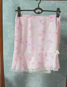 ピンキーガールズ 花柄スカート 未使用