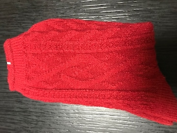 ヒートテック 靴下 赤 新品