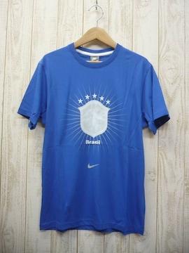 即決☆ナイキ 50%OFF ブラジル代表Tシャツ AWAY/M 新品