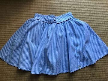 新品同様★Pinklatte ピンクラテ ストライプ フレアスカートS160