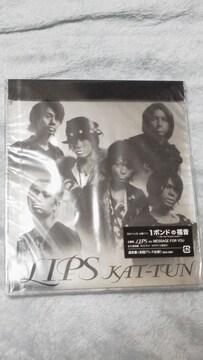 未開封美品KAT-TUN「LIPS」初回プレス仕様(全6曲収録)必見オマケ