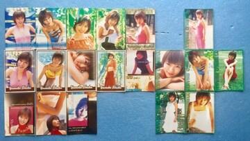 ワニブックス 釈由美子  カード ITALY トレカ 19枚 セット