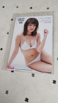 学研BOMBの久松郁実のクオカード