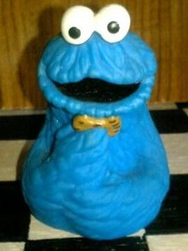 セサミストリート☆クッキーモンスター☆指人形☆フィギュア