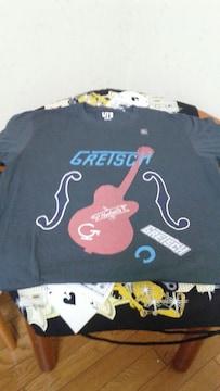 gretsch×ユニクロTシャツ�萄リームソーダロッカビートグレッチ6120ナッシュビル