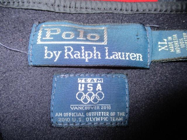 ラルフローレン バンクーバー五輪 パーカー USーXL 未使用 < ブランドの
