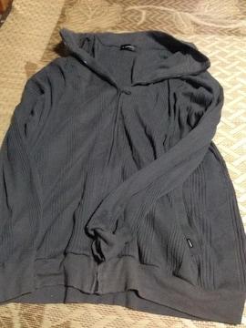 5Lサイズ グレーの長袖ジャンバー