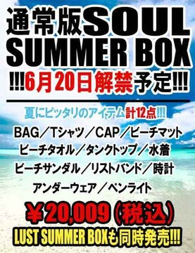 SOULFRANKY SUMMERBOX/S梅しゃん水着計12点
