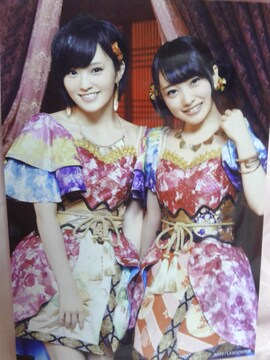 AKB48.君はメロディー.HMV購入特典生写真.山本彩.向井地美音