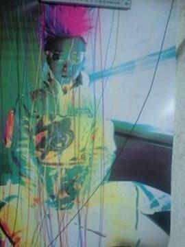 X JAPAN hide ポスター PSYENCE ヒデ サイバー