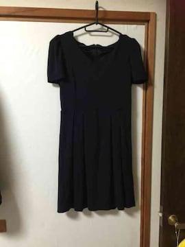 B122/MURUA/FREEサイズ/ブラック/ミニワンピ/