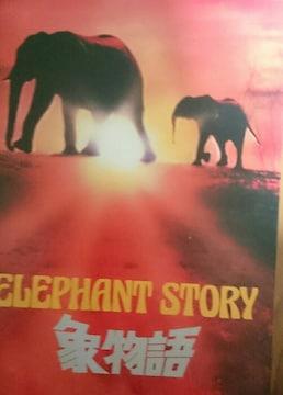 象物語 東宝 1980 映画パンフレット