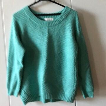 any sisの綺麗色ニット。セーター。アンゴラ。