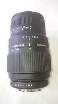 SIGMA DG ペンタKマウント 70-300�o マクロ(200-300)