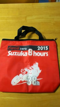 Coca-Cola zero コカ・コーラ 「鈴鹿8耐」 スポンサー クーラーバッグ 非売品
