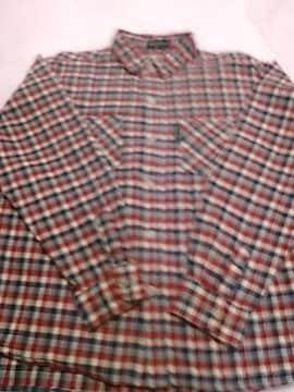 美品 140サイズ チェックシャツ
