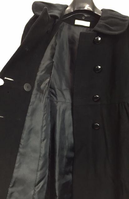 レッセパッセ コート ブラック レディース 36 黒 Aライン < ブランドの