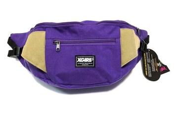X-GIRL エックスガール ボディバッグ ショルダーバッグ新品紫