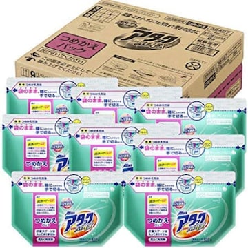 【ケース販売】アタック 洗濯洗剤 粉末 高活性バイオEX 詰め替え