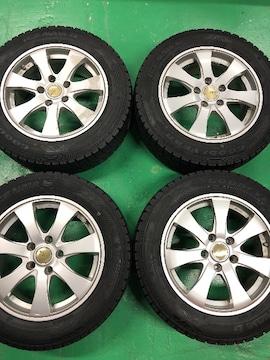 0082792)激安国産スタッドレスタイヤアルミホイ-ル4本セット205/60R16送料無料