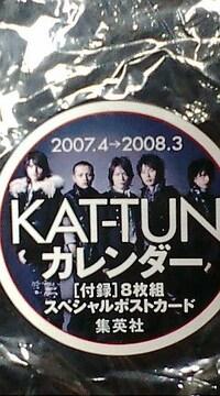 未開封美品KAT-TUN 5人公式カレンダー特典付き必見オマケ付