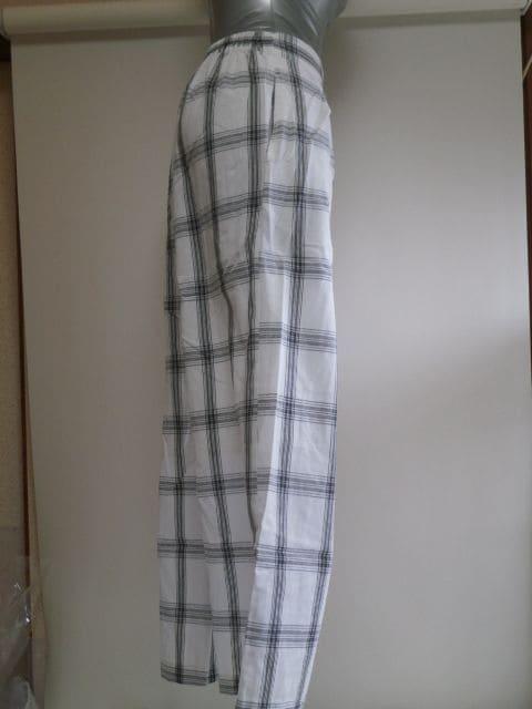 ★AZUL BY MOUSSYワイドチェックイージーパンツ サイズS★ < 女性ファッションの