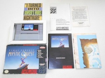 SFC★FINAL FANTASY MYSTIC QUEST SNES 海外版