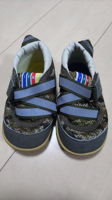 子供靴。14センチ。イフミー。迷彩柄。  < キッズ/ベビーの