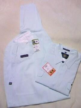 送料込☆寅壱【ミントグリーン】トビシャツL、3超ロング79cm