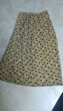 蝶々スカート
