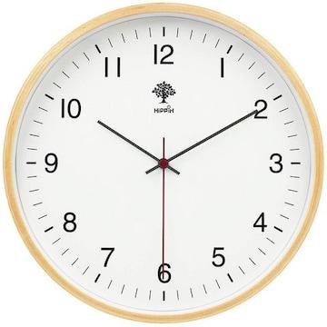 掛け時計 アナログ 木製 コンパクト 15Bf