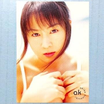 ●新品●木内晶子 ポートレイトカード B★