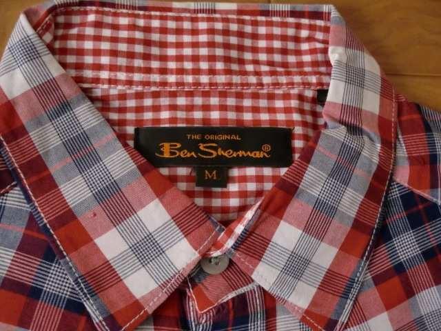 BEN SHERMAN ベンシャーマン ウエスタンシャツ Mサイズ  < ブランドの