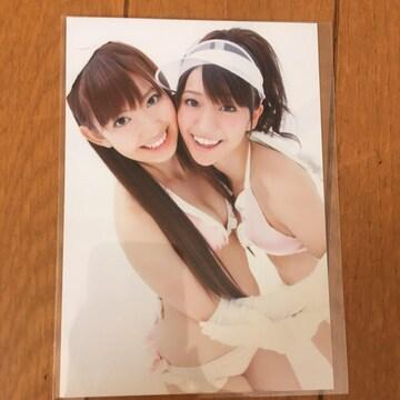 AKB48 大島優子 小嶋陽菜 生写真