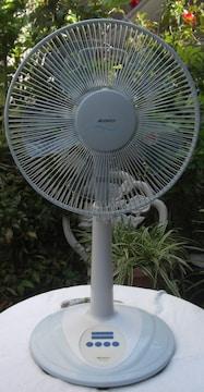Abitelax/AFN-112E(W)30cmお座敷扇風機中古完動品!!0427