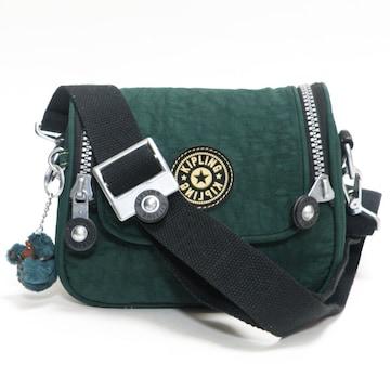 超美品キプリング カメラ用バッグ ショルダー 緑 良品 正規品