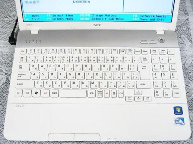 ☆送料無料☆初期化済み☆すぐ使えます☆ホワイト☆NEC☆LS150☆ < PC本体/周辺機器の