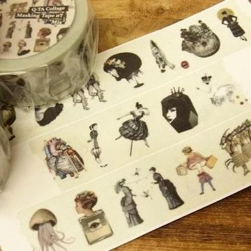 Q-TA Mix Collageコラージュマスキングテープ07