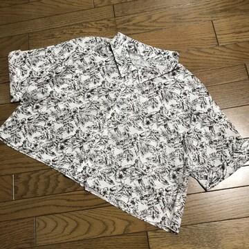 マカフィートゥモローランド南国ボタニカルプリントシャツ