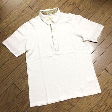 美品BEAUTY&YOUTH デザインポロシャツ 日本製 アローズ
