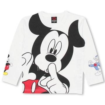 新品BABYDOLL☆120 ディズニー ミッキー ロンT Tシャツ ベビードール