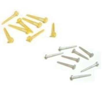 差込 樹脂ポストピアス 1ペア■金銀