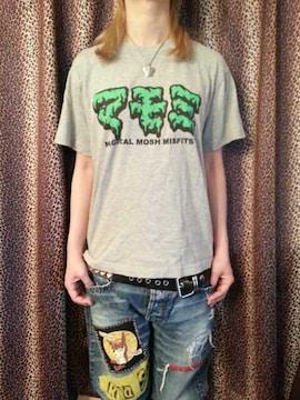 即決マジカルモッシュミスフィッツカタカナロゴTシャツ!スケートパンクロックTHRASHERHurley