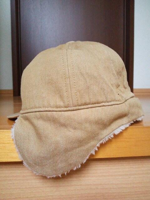 中古 耳つきキャップ帽 帽子 ミキハウス < ブランドの