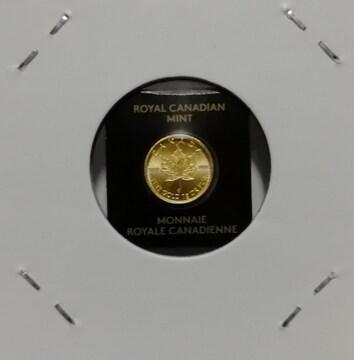 カナダ ゴールド メープル金貨 K24 純金99.9% 新品