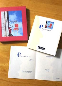 FELISSIMO フェリシモ 「アーティスティック ミニ ジャーナルコレクション」 Encounter 手帳