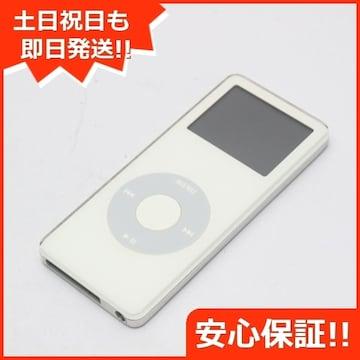 ●安心保証●美品●iPOD nano 第1世代 2GB ホワイト●