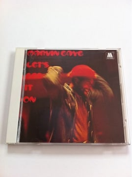 MARVIN GAYE/マーヴィン・ゲイ 『LET'S GET IT ON』 国内盤★モータウン