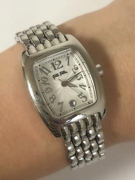 T138 美品★ フォリフォリ 腕時計 クォーツ カレンダー