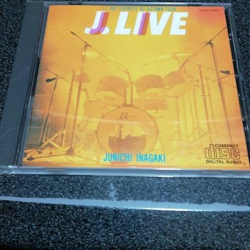 CD「稲垣潤一/J.LIVE-'83 AUTUMN TOUR」84年盤